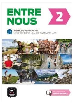 Entre nous 2 Pod. z ćwiczeniami+ CD