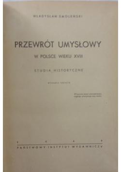 Przewrót umysłowy w Polsce wieku XVIII 1949 r.