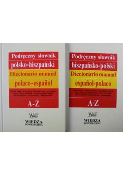 Podręczny słownik polsko hiszpański 2 tomy