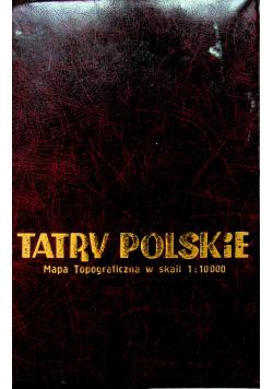 Tatry Polskie Mapa Topograficzna 14 map
