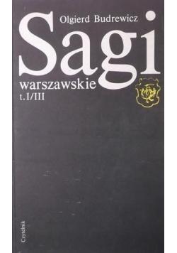 Sagi warszawskie t I / III