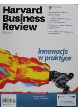 Harvard Business Review Polska Nr 9 Innowacje w praktyce