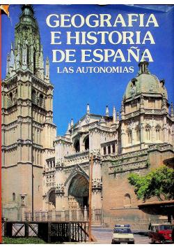Geografia e historia de Espana Las autonomias
