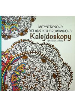 Antystresowy relaks kolorowankowy Kalejdoskopy