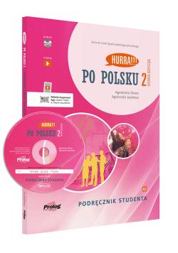 Hurra Po polsku 2 Podręcznik studenta z płytą CD