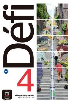 Defi 4 Podręcznik A1.1/A2.2 + CD w. francuska