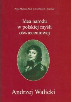Idea narodu w polskiej myśli oświeceniowej