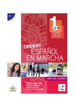 Nuevo Espanol en marcha 1 podręcznik + CD audio