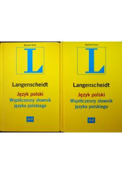 Współczesny słownik języka polskiego Tom 1 i 2