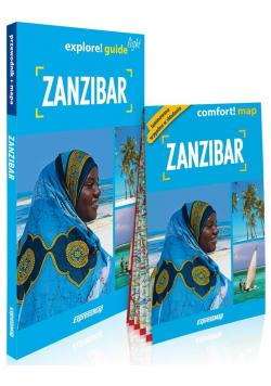 Zanzibar explore! guide light: przewodnik + mapa