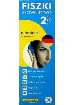 Fiszki słownictwo 2 A2 niemiecki dla początkujących