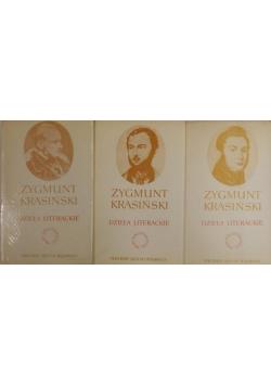 Krasiński Dzieła literackie 3 tomy