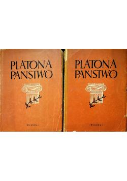 Platona Państwo 2 tomy 1948 r.