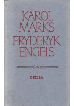 Marks Engels Dzieła Tom 25