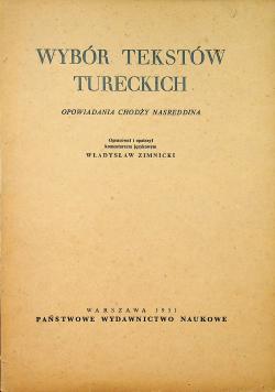 Wybór tekstów tureckich