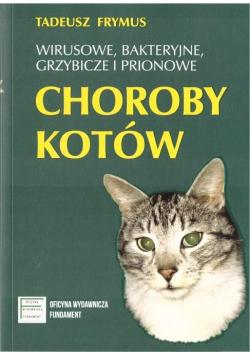 Wirusowe, bakteryjne... choroby kotów
