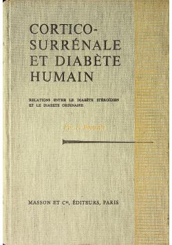 Cortico Surrenale et Diabete Human