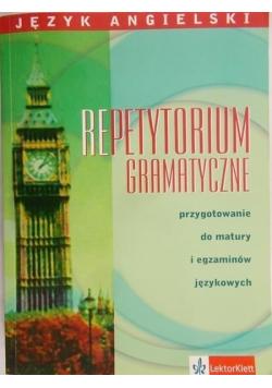 Język angielski Repetytorium Gramatyczne - Przygotowanie do matury i egzaminów językowych