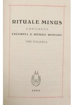 Rituale minus