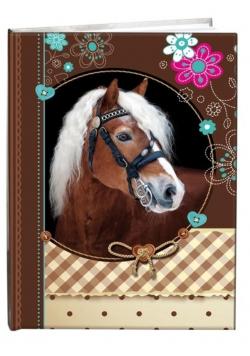 Notes gładki 13x18cm Sweet Horse
