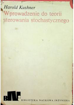 Wprowadzenie do teorii sterowania stochastycznego