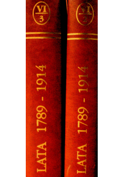 Wielka Historja Powszechna Tom VI część 2 i 3 reprint z 1938r