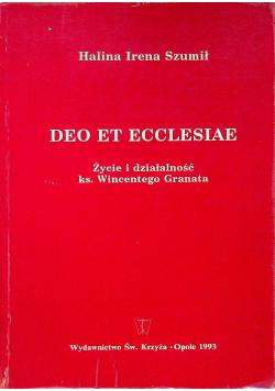 Deo Et Ecclesiae Życie i działalność ks Wincentego Granata