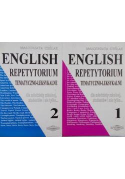English Repetytorium tematyczno leksykalne Tom I i II