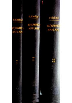 Bojownicy kapłani Tom od I do III 1933 r