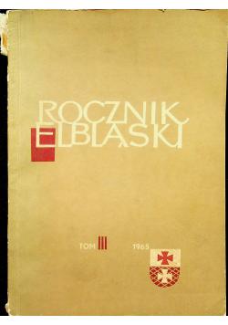 Rocznik Elbląski tom III