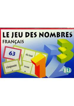 Le jeu des nombres Francais Nowa
