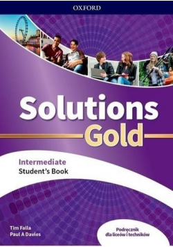 Solutions Gold Intermediate SB OXFORD
