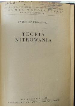 Teorie nitrowania