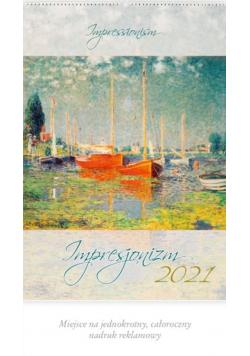 Kalendarz 2021 Reklamowy Impresjonizm RW7