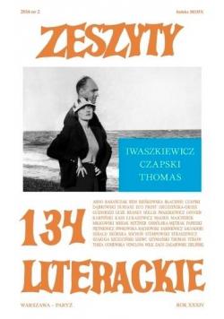Zeszyty literackie 134 2/2016