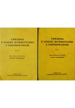 Ćwiczenia z analizy matematycznej z zastosowaniami Tom 1 i 2