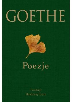 Goethe. Poezje