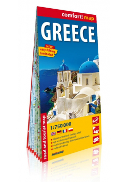 Comfort!mpa Greece 1:750 000 w.2019
