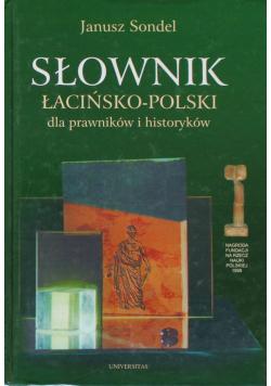 Słownik łacińsko-polski dla prawników i historyków