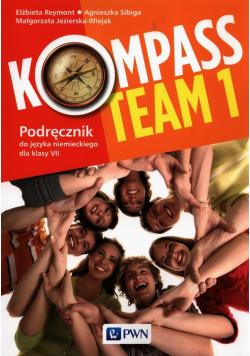 Kompass Team 1 Podręcznik do języka niemieckiego dla klas 7