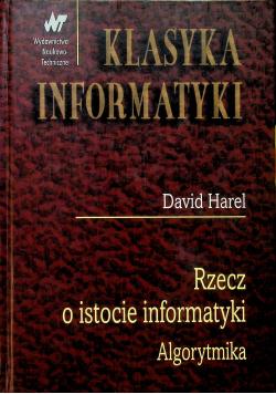 Rzecz o istocie informatyki Algorytmika