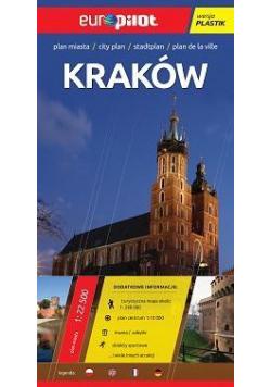 Plan Miasta EuroPilot. Kraków plastik