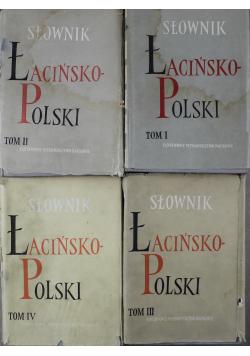 Słownik łacińsko polski 4 tomy