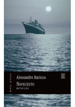 Novecento monolog