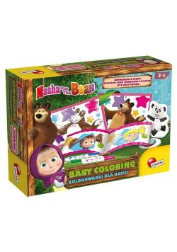 Masza i Niedźwiedź Kolorowanki dla dzieci 3
