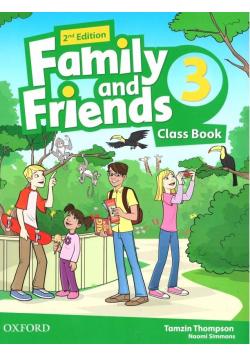 Family and Friends 2E 3 CB OXFORD
