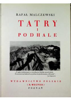 Tatry i Podhale Reprint