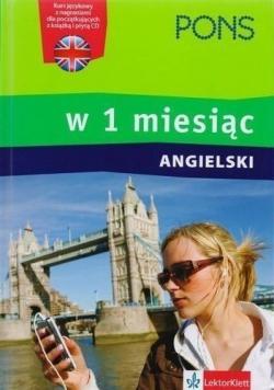 Pons Angielski w 1 miesiąc plus płyta CD