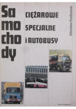Samochody ciężarowe specjalne i autobusy