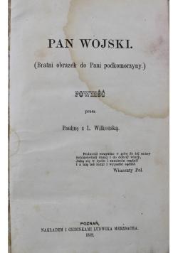Pan Wojski 1858 r.